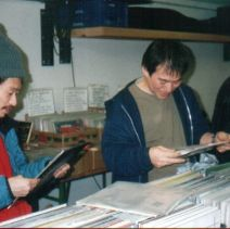 Yamatsuka Eye & Otomo Yoshihide at our merchtable at Wels Unlimited