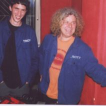 Wasch8echt Crew Wels with old Bulbul/Trost jacket!